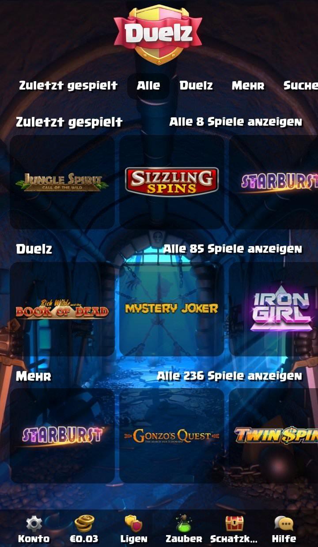 Die Duelz Web-App