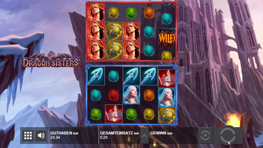 Dragon Sisters von Relax Gaming bei Push Gaming veröffentlicht