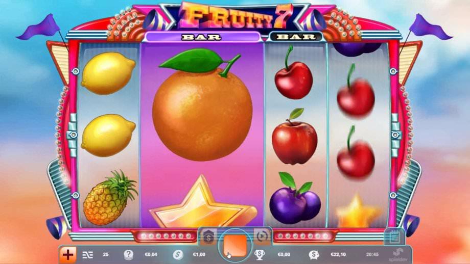 Fruity 7 - ein Spielautomat von Spieldev