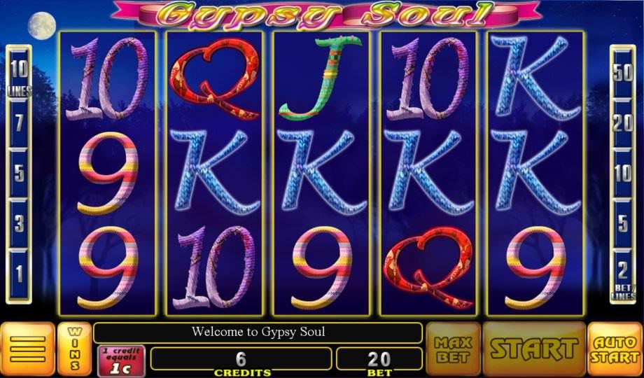 Der Slot Gypsy Soul von GameArt