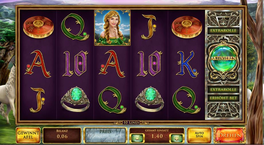 Der Spielautomat Mystic Mirror von Red Rake Gaming