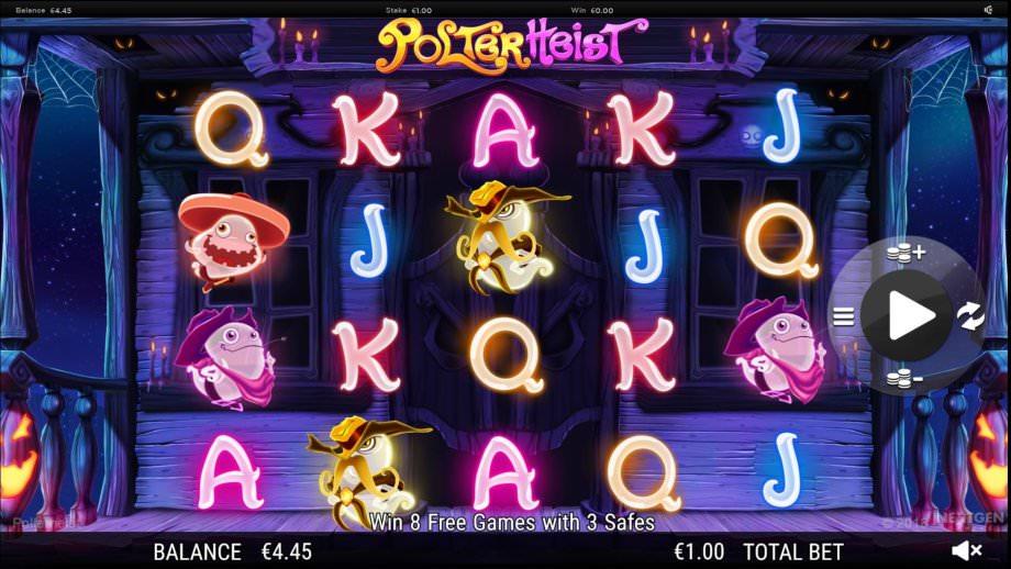 Der Geisterspielautomat Polter Heist