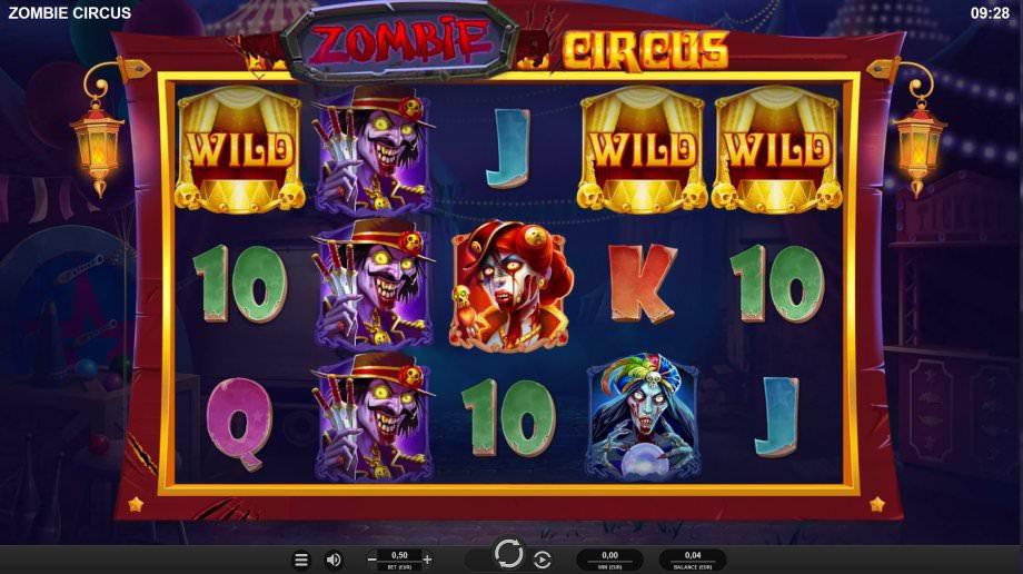 Der neue Slot Zombie Circus von Relax Gaming