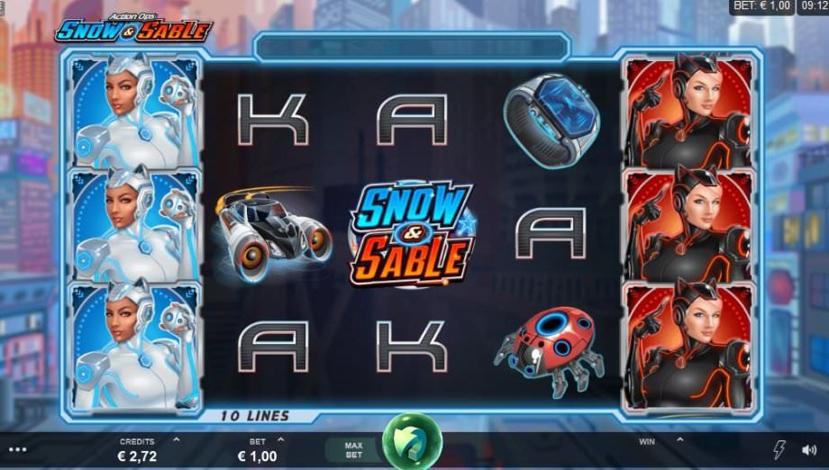 Der neue Microgaming Slot Action Ops Snow & Sable