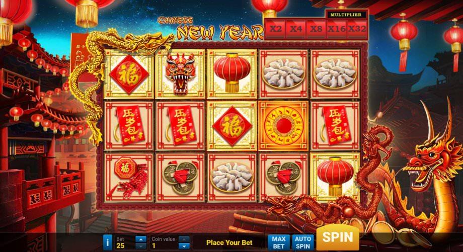 Chinese New Year Automatenspiel von Play'N GO
