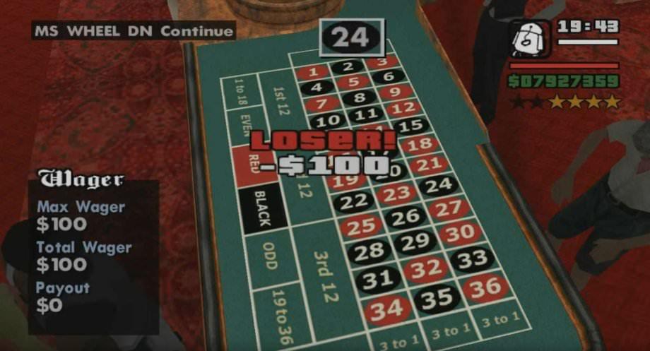 wo ist das casino bei gta san andreas
