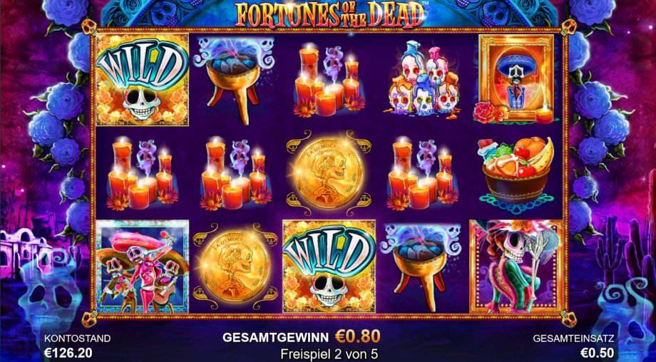 Freispiele bei Fortunes of the Dead