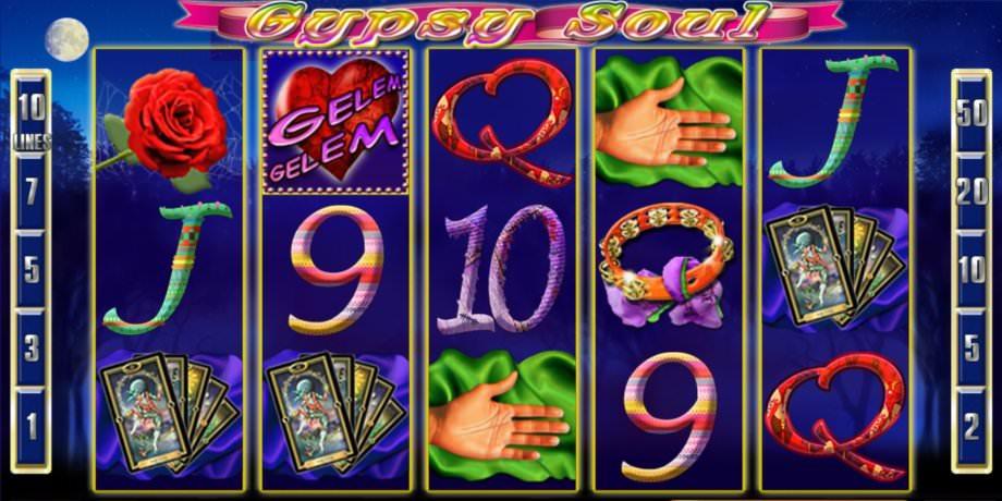 Der Slot Gypsy von High 5 Games –online spielen