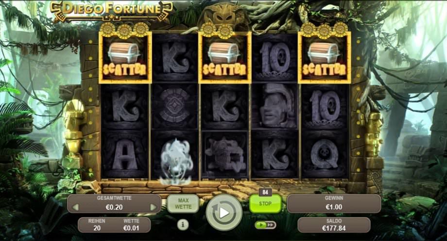 Diego Fortune - Spielautomat von Booongo Gaming