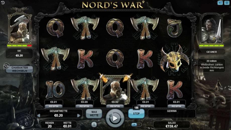Der Spielautomat Nord's War von Booongo Gaming