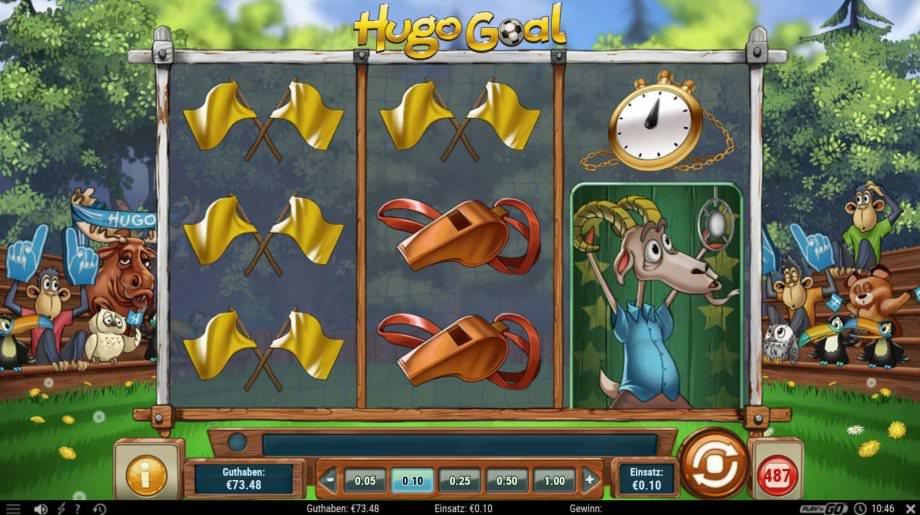 Der neue Play'n GO Slot von Hugo Goal