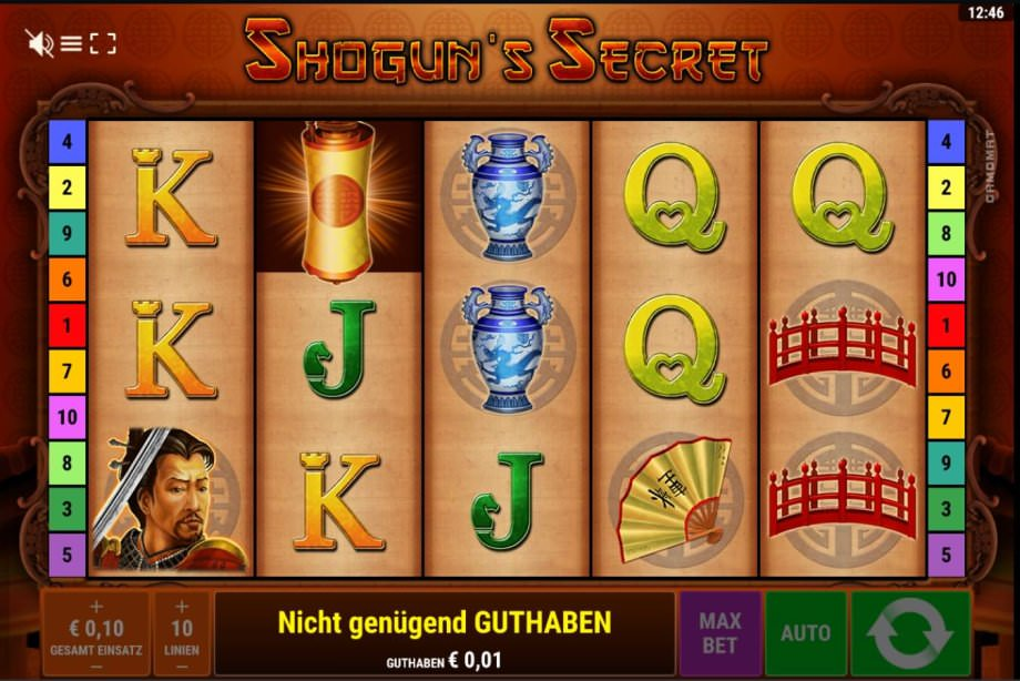 Der neue Bally Wulff Slot Shogun's Secret