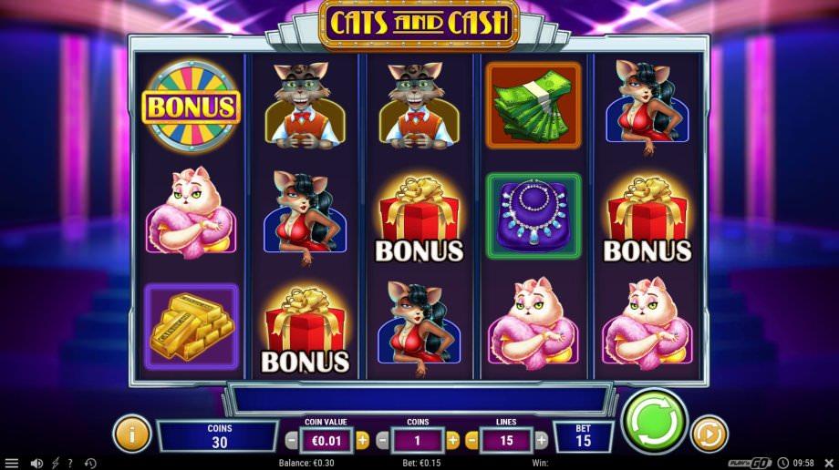 Cats und Cash - neuer Play'n GO Slot