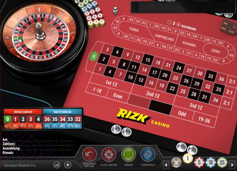 Das neue individualisierbare European Roulette Pro von Play'n GO