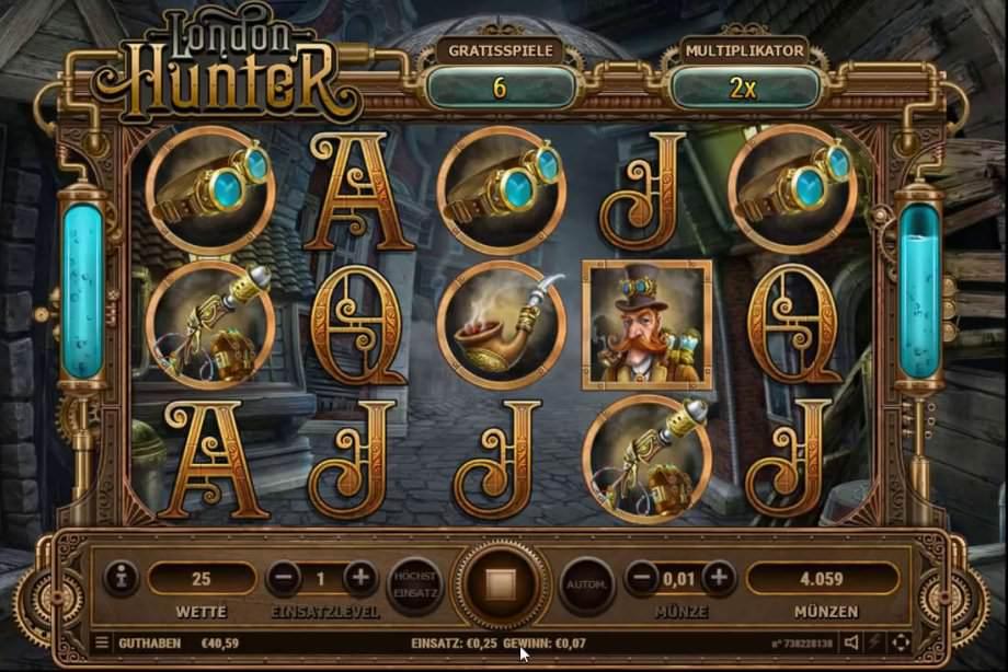 Lodon Hunter der Slot von Habanero Systems