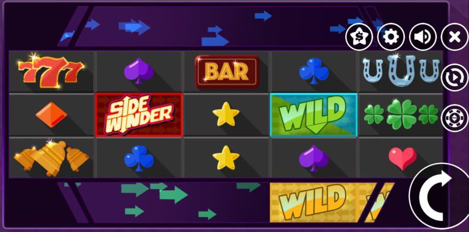 Der neue Spielautomat Sidewinder von Microgaming