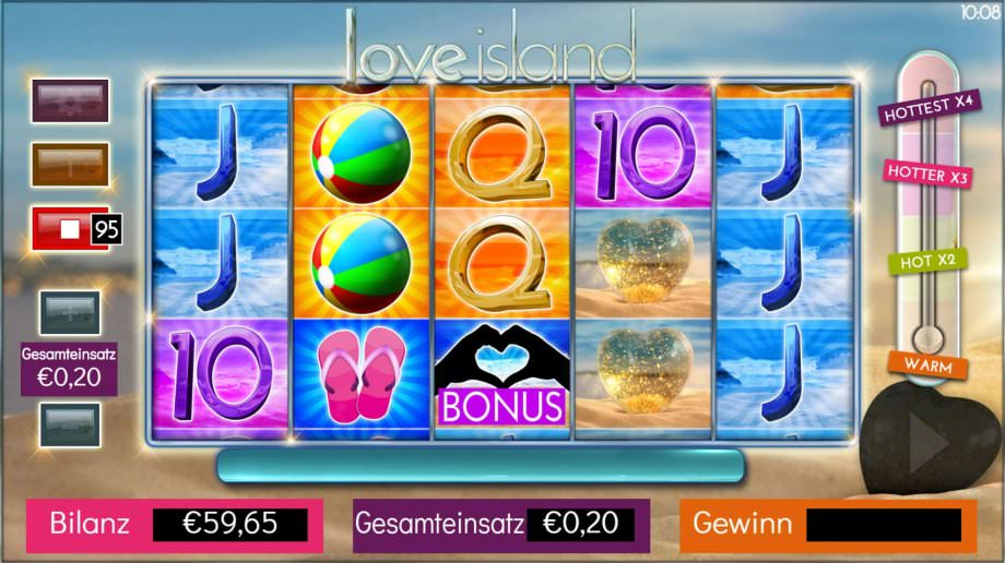 Love Island von Storm Gaming Technology