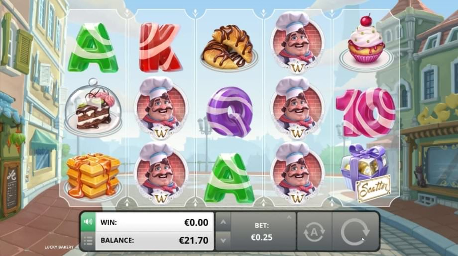 Der Slot Lucky Bakery von Foxium
