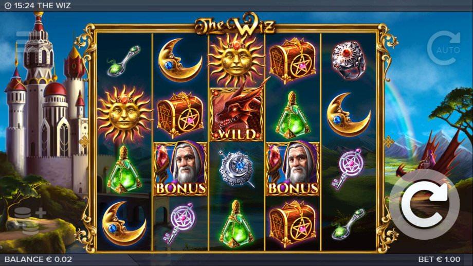 Der Spielautomat The Wiz von ELK Studios