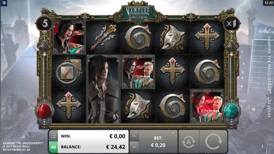 Der Slot Vampire: The Masquerade - Las Vegas von Foxium