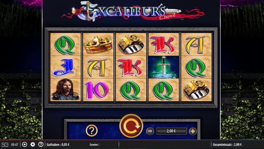Excalibur's Choice - der Merkur Slot im neuen Gewand