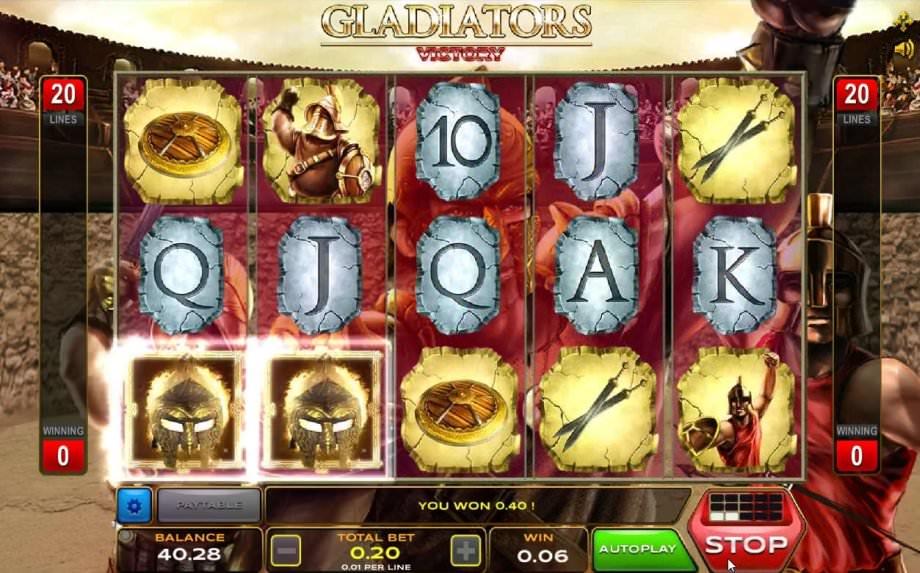 Der Slot Gladiators Victory von Xplosive