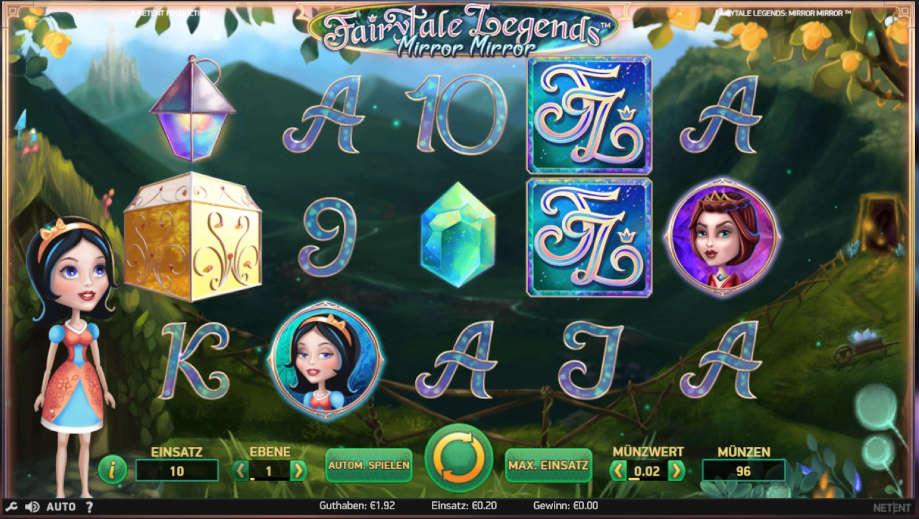 Der Slot Mirror Mirro von NetEnt