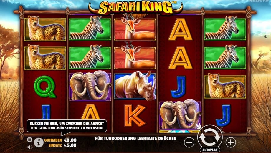 Safari King von Pragmatic Play