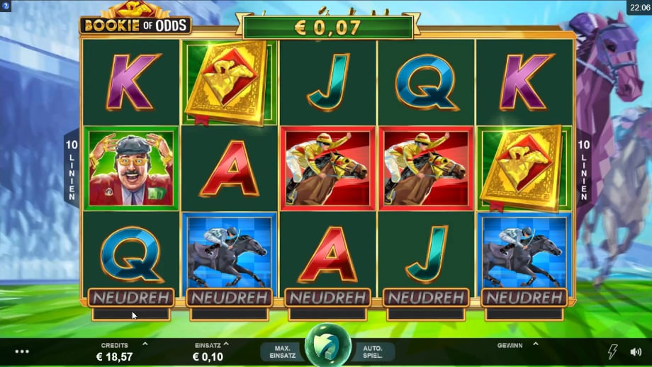 Der neue Microgaming Slot Bookie of Odds