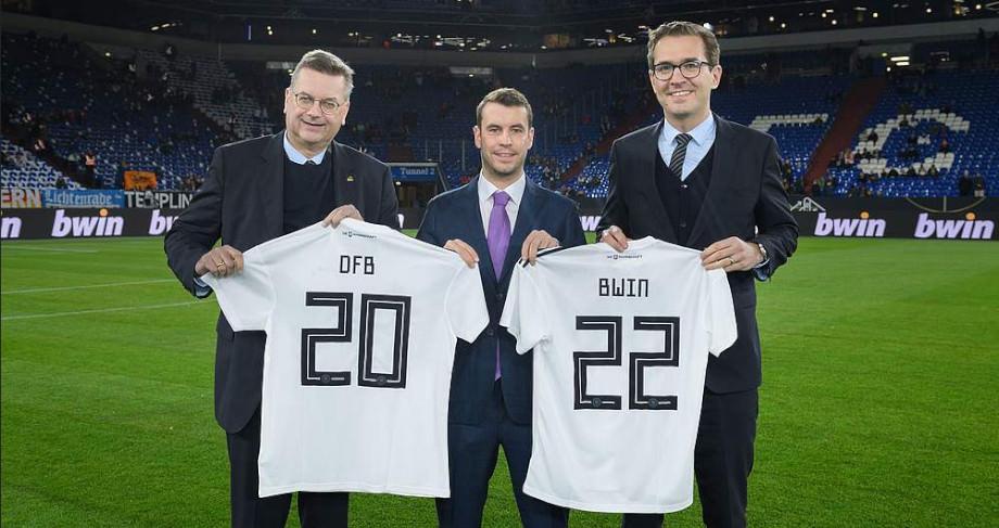 Bwin präsentiert sich als Partner des DFB
