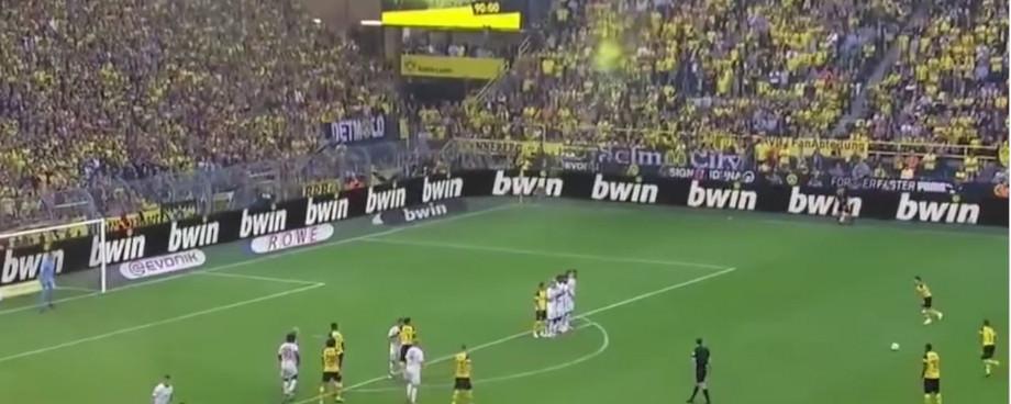 Beispiel für bwin Bannerwerbung beim BVB
