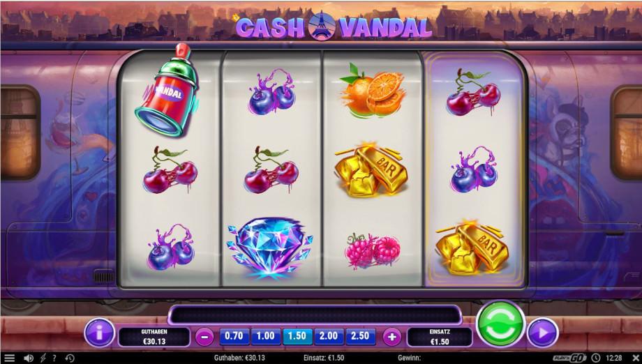 Der neue Play'n GO Slot Cash Vandal
