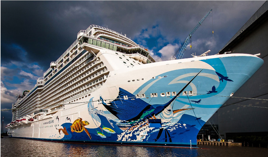 Die Norwegian Escape