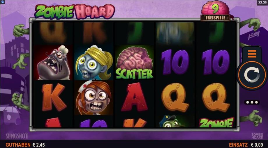 Der neue Slot Zombie Hoard von Microgaming