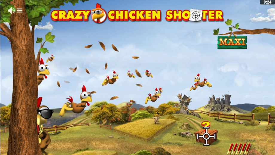 Der neue Crazy Chicken Shooter