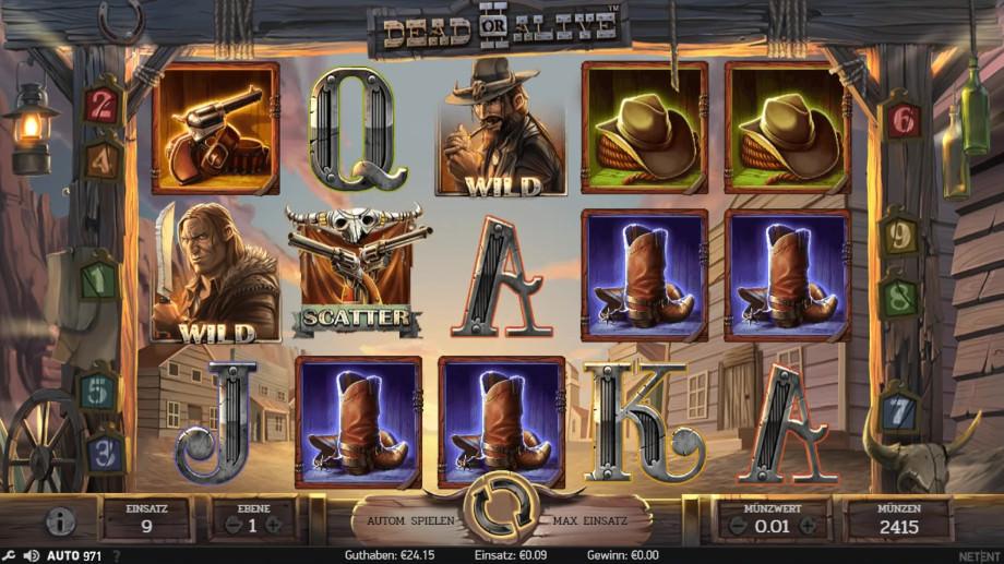 Der neue NetEnt Slot Dead or Alive 2