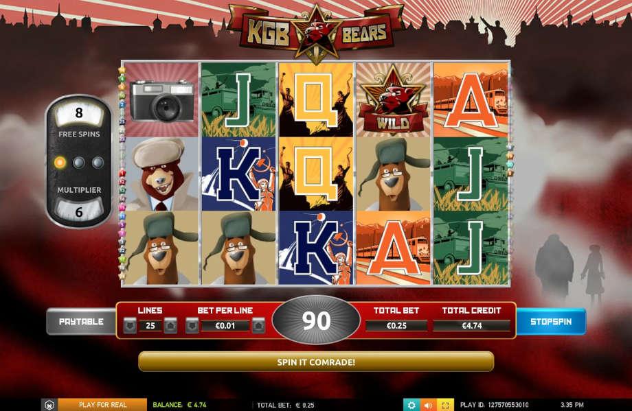 KGB Bears von The Games Company