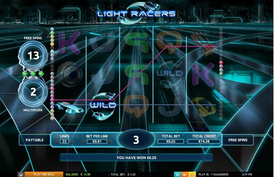 Der Games Company Slot Light Racers