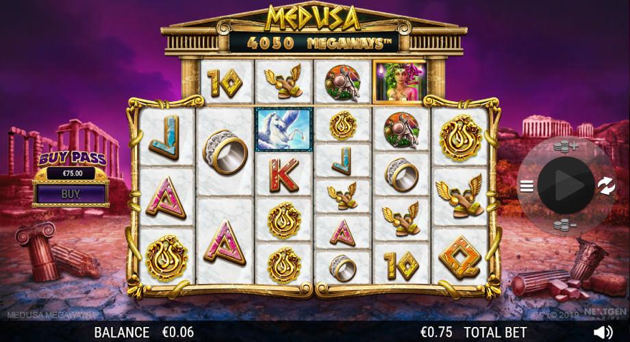 Der Spielautomat Medusa Megaways von NextGen