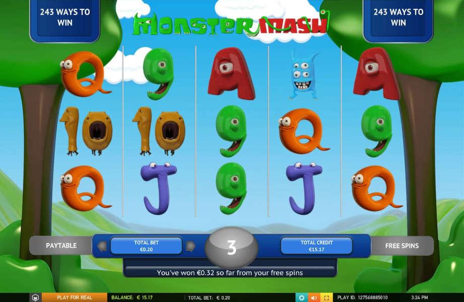 Der Spielautomat Monster Mash von the Games Company