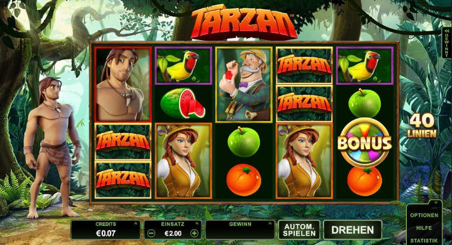 Tarzan von Microgaming