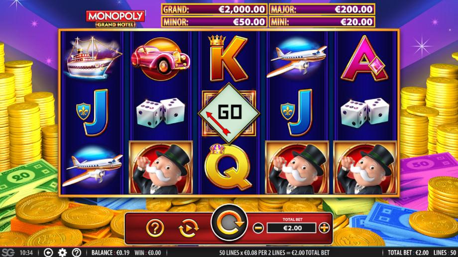 Monopoly Grand Hotel von WMS