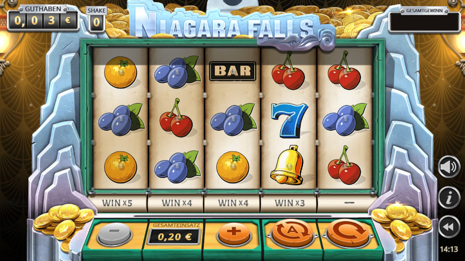 Niagara Falls von Play>'n GO