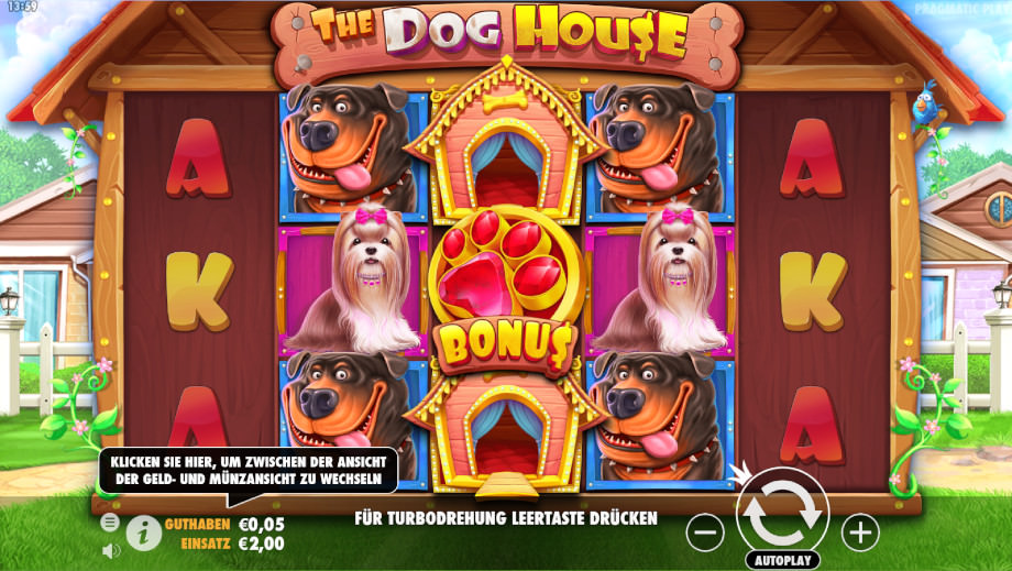 The Dog House von Pragmatic Play