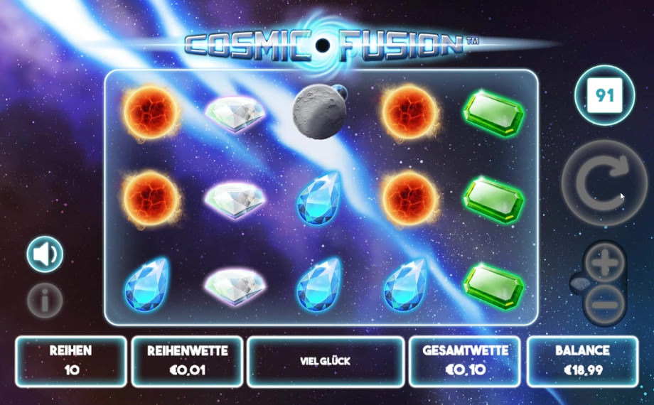 Cosmic Fusion von Mutel Play