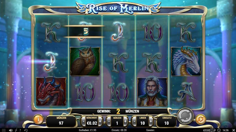 Rise of Merlin von Play'n GO