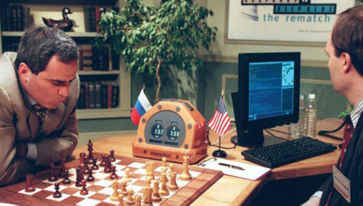 Deep Blue gegen Kasparow
