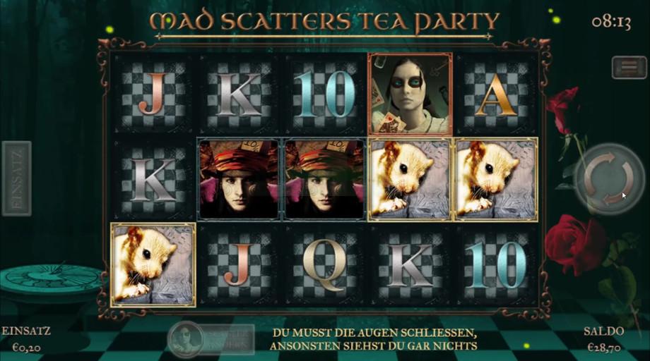 Mad Scatter Tea Party von Slingo Originals