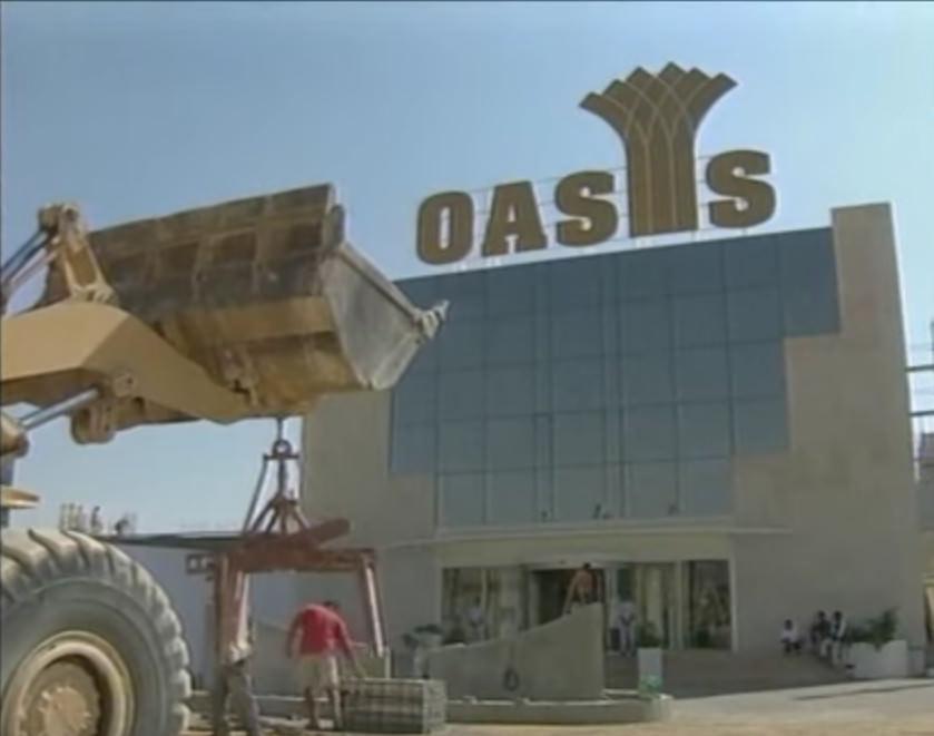 Das Oasis Casino von Jericho