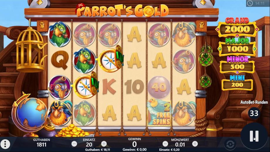 Parrot's Gold von Pariplay